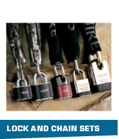 Lock and chain sets