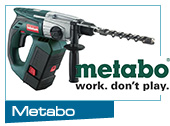 metabo cordless power tools and accessories