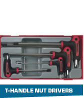 T-handle nut drivers